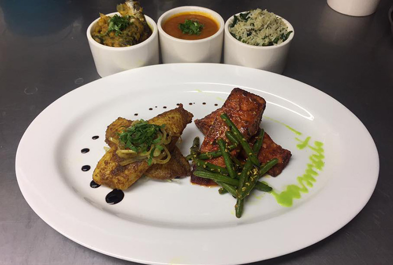 Indian food on plate